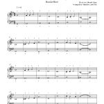 Pomp And Circumstance (Graduation March)Edward Elgar Piano Sheet   Free Printable Sheet Music Pomp And Circumstance