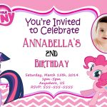 Pony Birthday Invitations  Free Printable My Little Pony Birthday   My Little Pony Free Printables