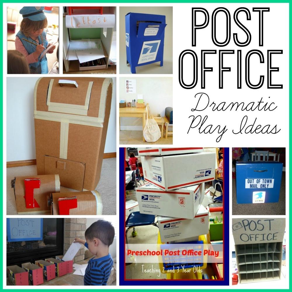 Post Office Dramatic Play - Post Office Dramatic Play Free Printables