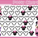 Potty Training! {Free Printable} Minnie Mouse Daisy Duck Free   Free Printable Minnie Mouse Potty Training Chart
