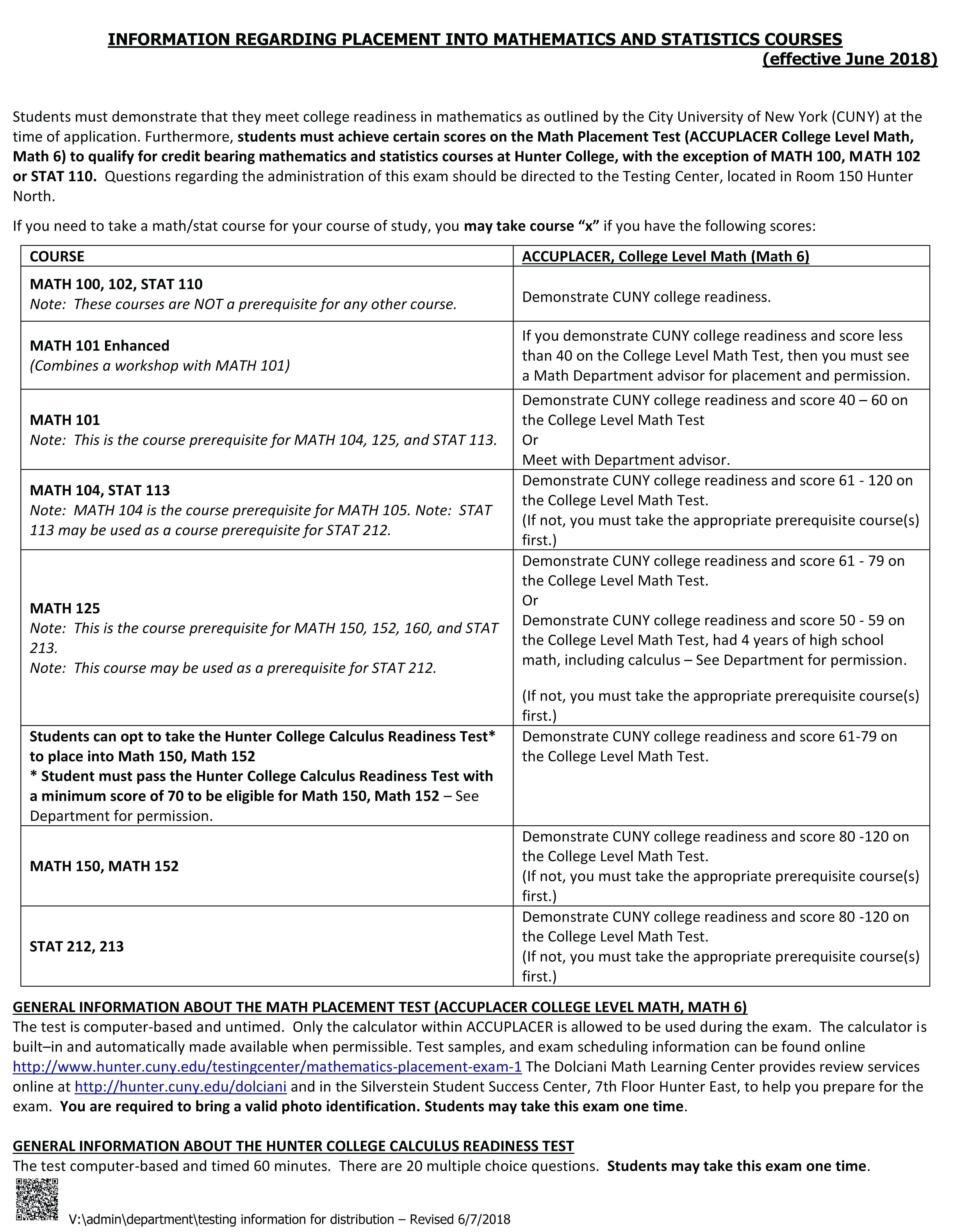 Practice Compass Test Math 2 Where The Student Should Begin In The - Free Printable College Placement Test