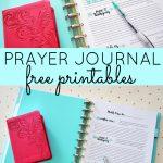 Prayer Journal Free Printables   Sparkles Of Sunshine   Free Printable Prayer List