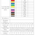 Pre K Assessment   Things To Practice   Prek   Kindergarten   Free Printable Pre K Curriculum