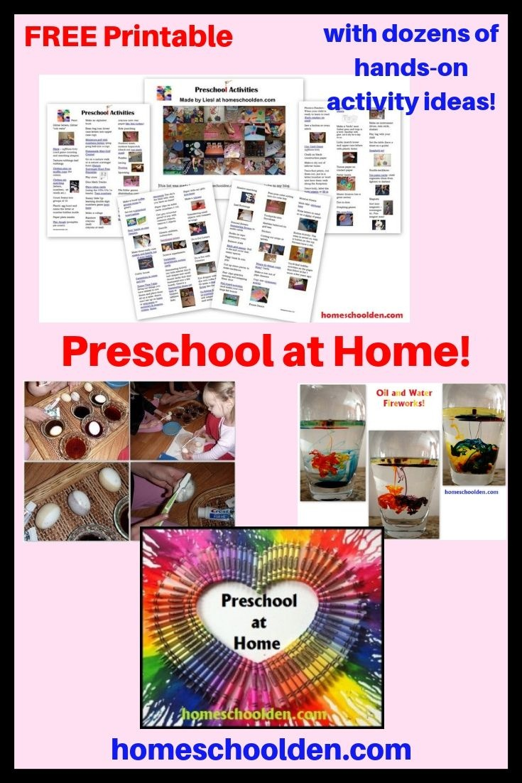 Preschool At Home! Grab This Free Printable With Dozens Of Activity - Free Printable Activities For 6 Year Olds