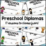 Preschool Graduation Diploma   Preschool Graduation Diploma Free Printable