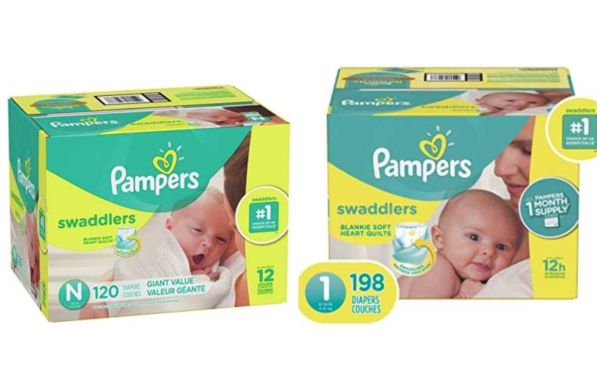 Prime Members Get 50% Off Pampers Swaddlers Sizes Newborn-2 |Living - Free Printable Pampers Swaddlers Coupons