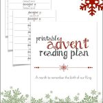 Printable Advent Reading Plan | Best Of Not Consumed Blog | Advent   Free Printable Advent Bible Study