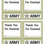 Printable Army Star Thank You Cards Coolest Free Printables | Boys   Military Thank You Cards Free Printable