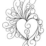 Printable Art Work | Heart Of Intricate~Shinobitokobot On   Free Printable Quilling Patterns