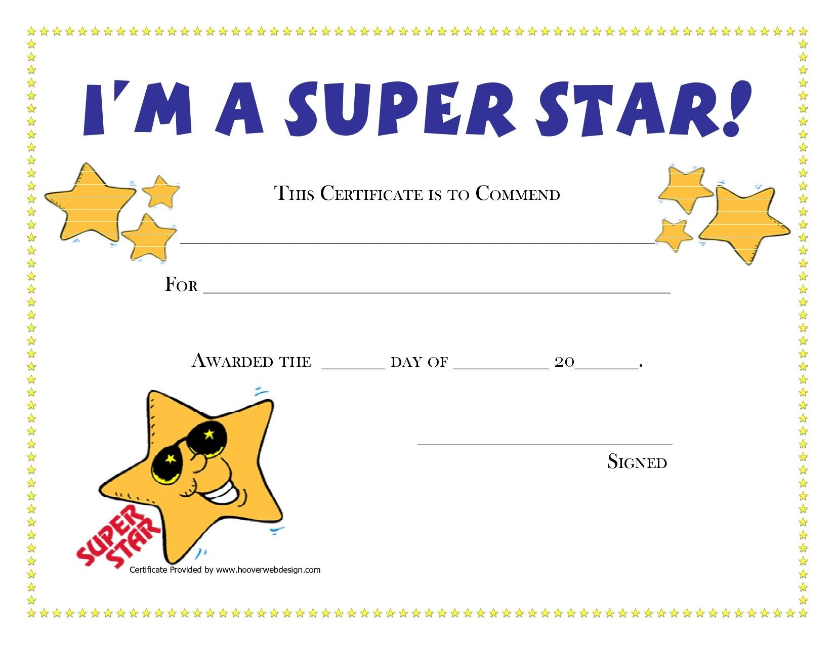 Printable Award Certificates For Students | Craft Ideas | Blank - Free Printable Award Certificates For Elementary Students