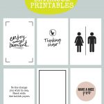 Printable Bathroom Signs | Being Mrs Mcintosh   Free Printable Bathroom Signs