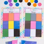 Printable Bingo Colors | Colors | Preschool Games, Preschool   Free Printable Games For Toddlers