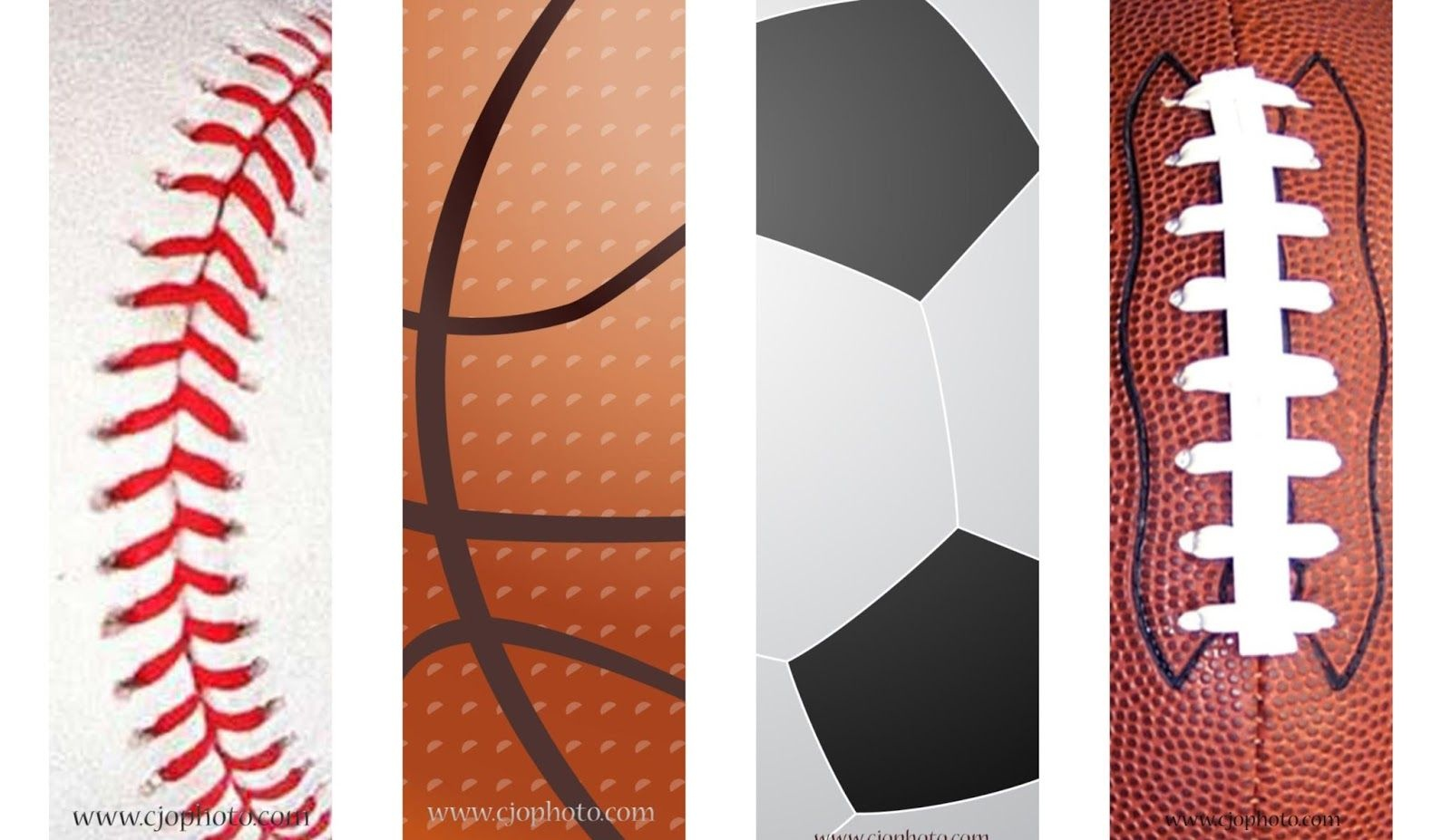 Printable Bookmarks: Sports | Free Printable Bookmarks | Bookmarks - Free Printable Sports Bookmarks