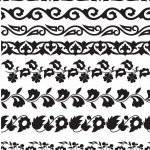 Printable Borders For Display Boards   Google Search | Stencil That   Free Printable Lace Stencil