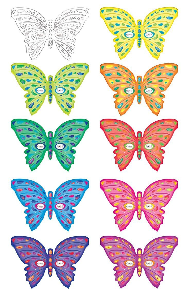 Printable Butterfly Masks - Coolest Free Printables #butterflies - Free Printable Images Of Butterflies