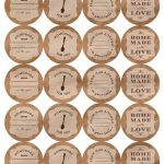 Printable Canning Jar Labels   Free Printable Mason Jar Labels