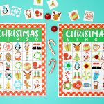 Printable Christmas Bingo Game   Happiness Is Homemade   20 Free Printable Christmas Bingo Cards