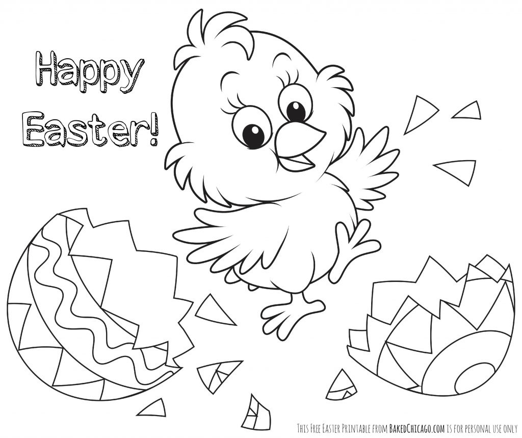 Printable Easter Coloring Pages For Toddlers Free Bunny Sheets Pdf - Free Printable Easter Coloring Pages For Toddlers