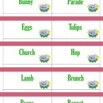 Printable Easter Game Cards For Pictionary Charades Hangman | Etsy   Free Printable Pictionary Cards