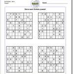Printable Evil Sudoku Puzzles | Math Worksheets | Sudoku Puzzles   Free Printable Super Challenger Sudoku