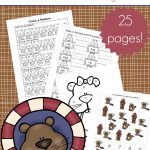 Printable Groundhog Day Activities For Preschoolers   Free Groundhog Printables Preschool