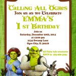Printable Invitation Shrek Invitation Doney Inviteatomdesign   Free Printable Shrek Invitations