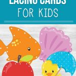 Printable Lacing Cards For Kids   Free Printable Lacing Cards