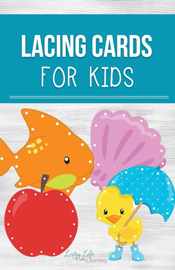 Printable Lacing Cards For Kids - Free Printable Lacing Cards
