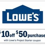 Printable Lowes Coupon 20% Off &10 Off Codes December 2016   Free Printable Lowes Coupons