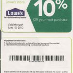 Printable Lowes Coupon 20% Off &10 Off Codes December 2016 | Stuff   Free Printable Lowes Coupons