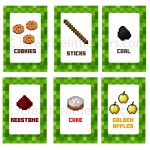 Printable Minecraft Food Labels   Creative Little Parties   Free Printable Minecraft Food Labels