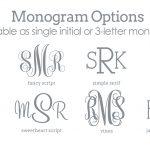 Printable Monogram Letters   Design Templates   Free Printable Monogram Initials