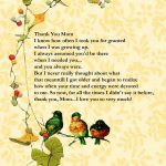 Printable Mother's Day Poems | Free Mothers Day Digital Card   Free Printable Mothers Day Poems