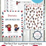 Printable Patriotic Games And Puzzles Pack For Kids   Free Printable I Spy Puzzles