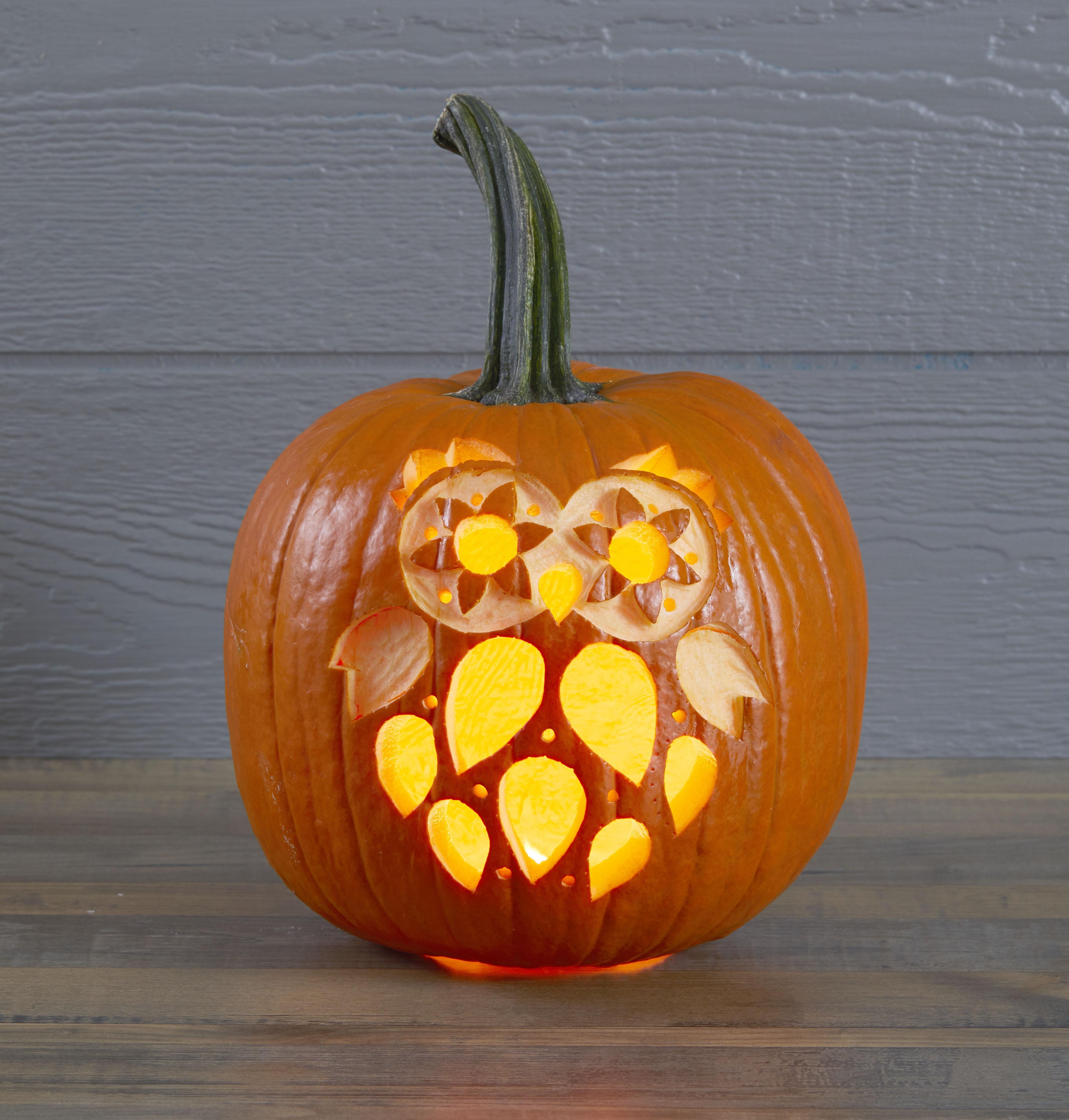 Printable Pumpkin Stencils | Better Homes & Gardens - Free Online Pumpkin Carving Patterns Printable