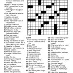 Printable Puzzles For Adults | Easy Word Puzzles Printable Festivals   Free Easy Printable Crossword Puzzles For Adults