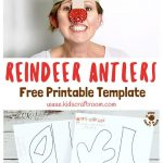 Printable Reindeer Antlers Hat | Printable Crafts | Childrens   Free Printable Crafts For Preschoolers