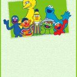 Printable Sesame Street Party Invitation Card | Jacob's 1St Birthday   Free Sesame Street Printables