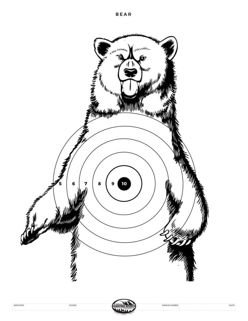 Printable Shooting Targets And Gun Targets • Nssf - Free Printable Shooting Targets