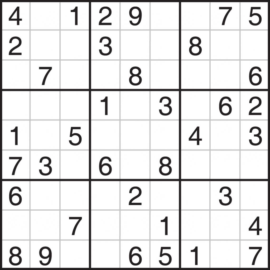 Printable Sudoku 4 Per Page Easy | Printable Sudoku Free - Free Printable Sudoku Easy