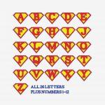 Printable Superman Birthday Banner For A Super Hero Birthday Party   Free Printable Disney Alphabet Letters
