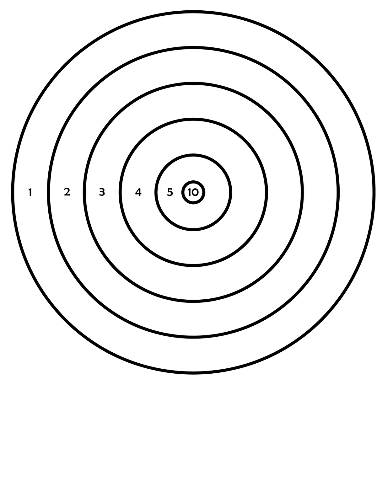 Printable Targets | 411Toys: Free Printable Airsoft Targets - Free Printable Pistol Targets