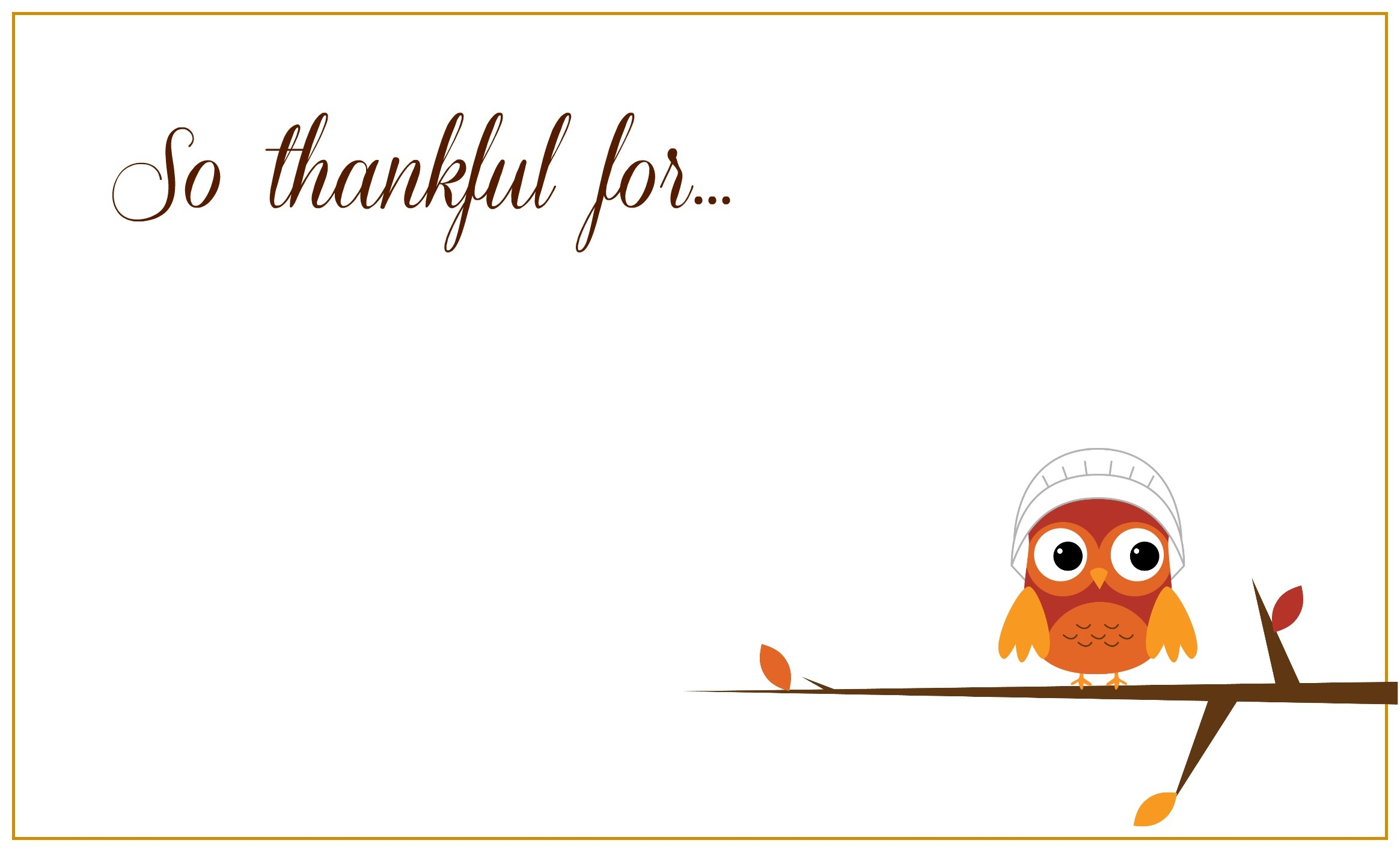 Printable Thanksgiving Placecards ~ Creative Market Blog - Free Printable Thanksgiving Cards