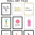 Printable Wall Art   Print Wall Decor And Poster Prints For Your   Free Printable Artwork For Home