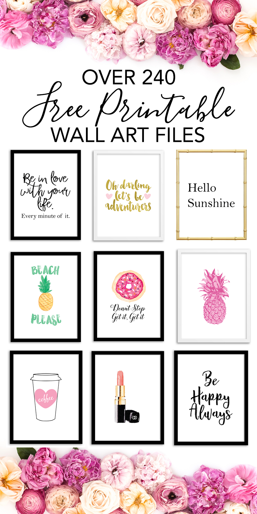 Printable Wall Art - Print Wall Decor And Poster Prints For Your - Free Printable Artwork For Home