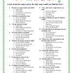 Printable+Christmas+Song+Trivia | Christmas | Christmas Trivia   Free Printable Christmas Song Quiz