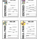 Printables – Mad Libs | Educational Extras | Hall Pass, Mad Libs   Free Printable Hall Pass Template