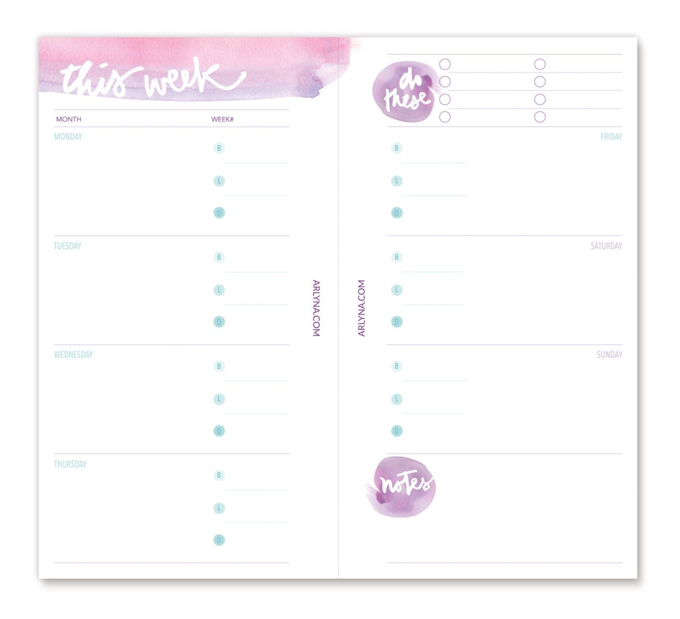 Printables | P P P Planners | Planner Pages, Planner Template - Free Filofax Printables 2017