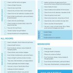Professional House Cleaning Checklist Template Word For Maid In   Free Printable House Cleaning Checklist For Maid