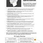 Psycho Educational And Mental Health Worksheets And Handouts   Free Printable Mental Health Worksheets